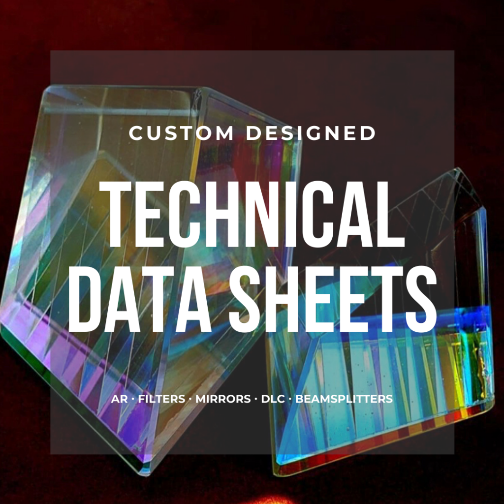 thin film coating data sheets