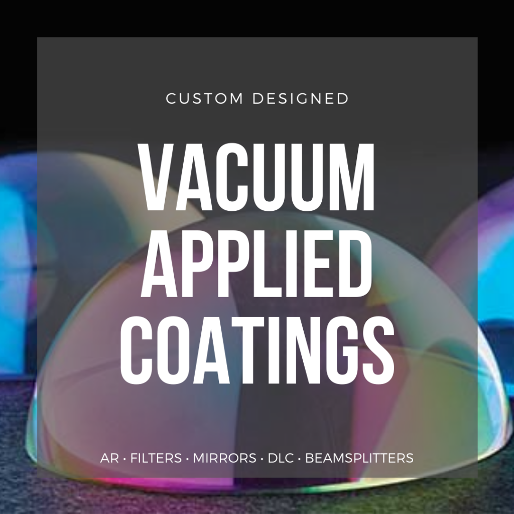vacuum applied coatings landing page information and data