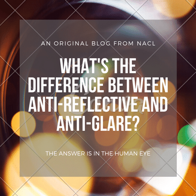 difference between anti reflective and anti glare blog article