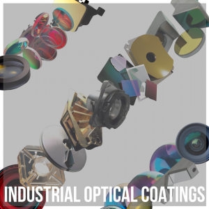 Action button to industrial optical coatings landing page