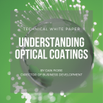 technical white paper types of optical coatings beamspitters filters anti reflective protective conductive
