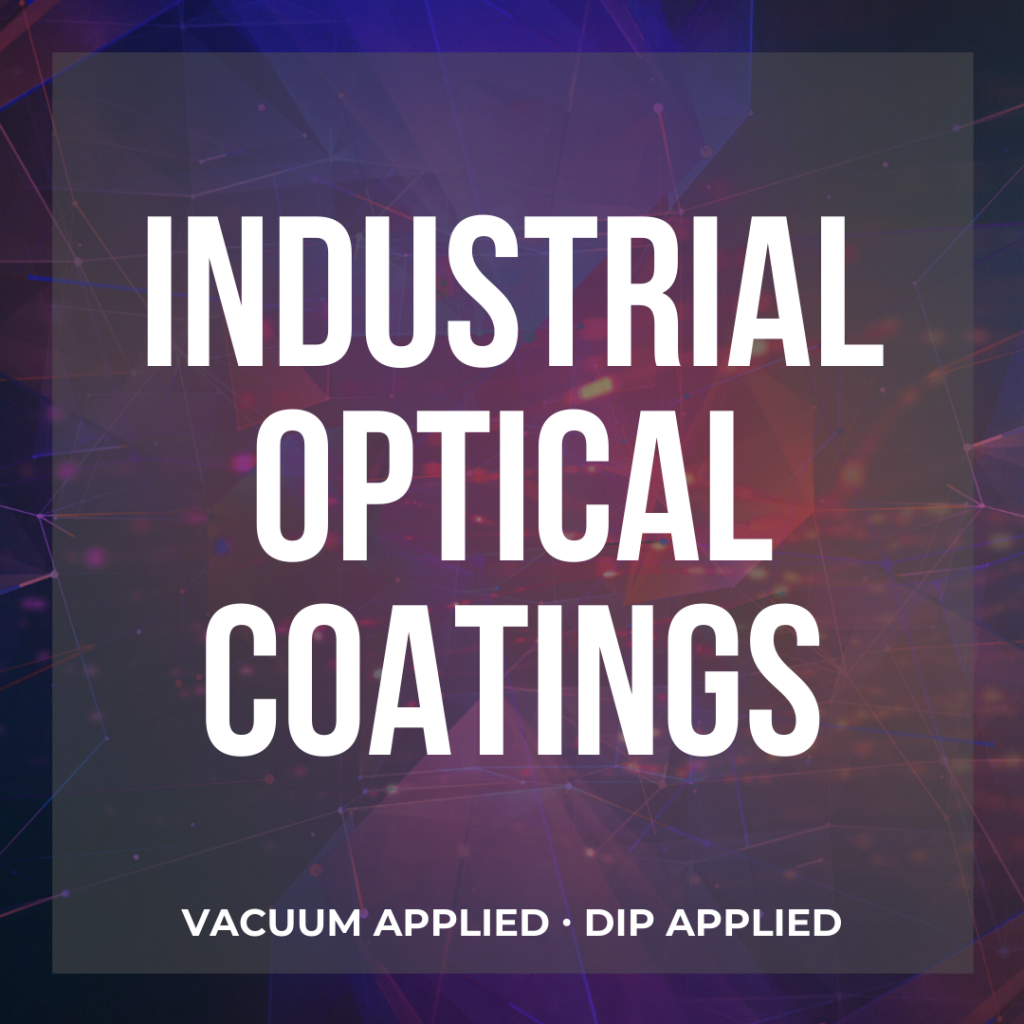 industrial optical coatings button